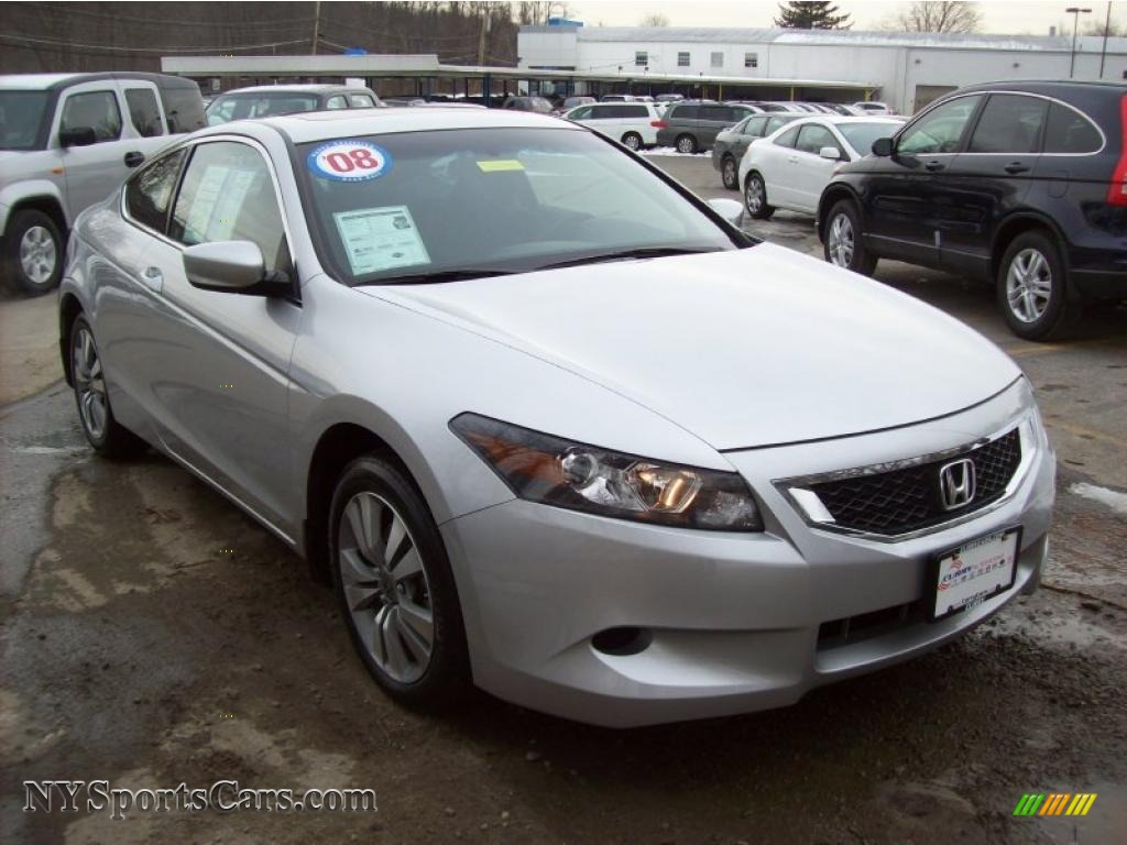 2008 honda accord ex coupe in alabaster silver metallic 003813 cars for. Black Bedroom Furniture Sets. Home Design Ideas