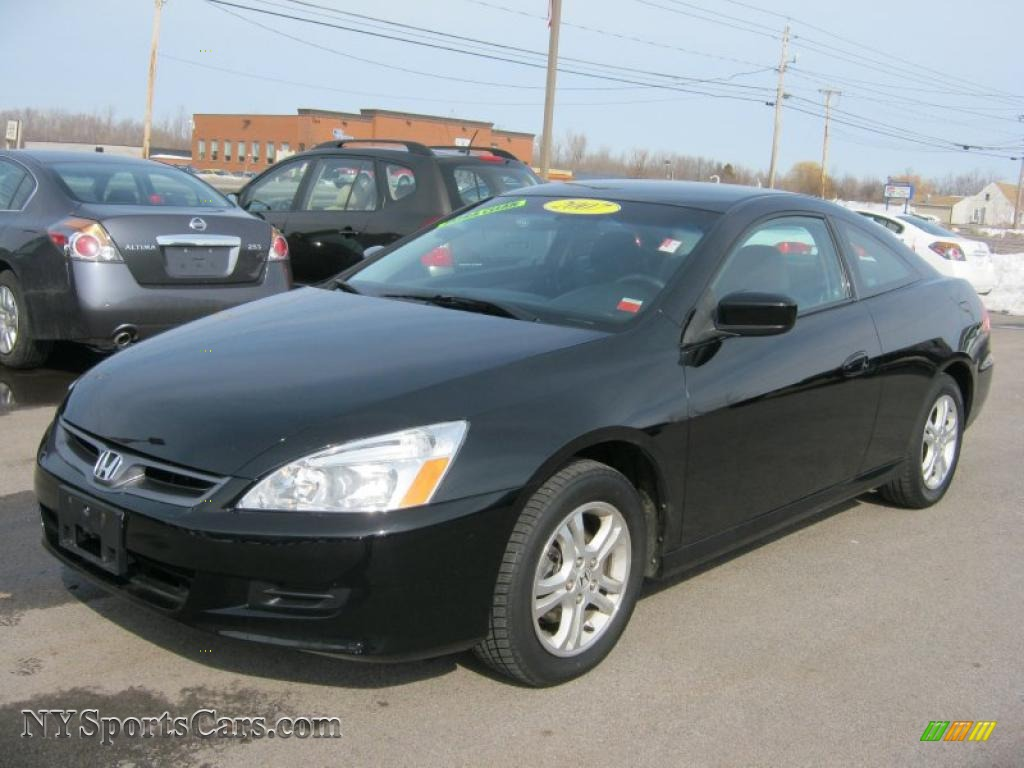 2007 honda accord lx coupe in nighthawk black pearl. Black Bedroom Furniture Sets. Home Design Ideas