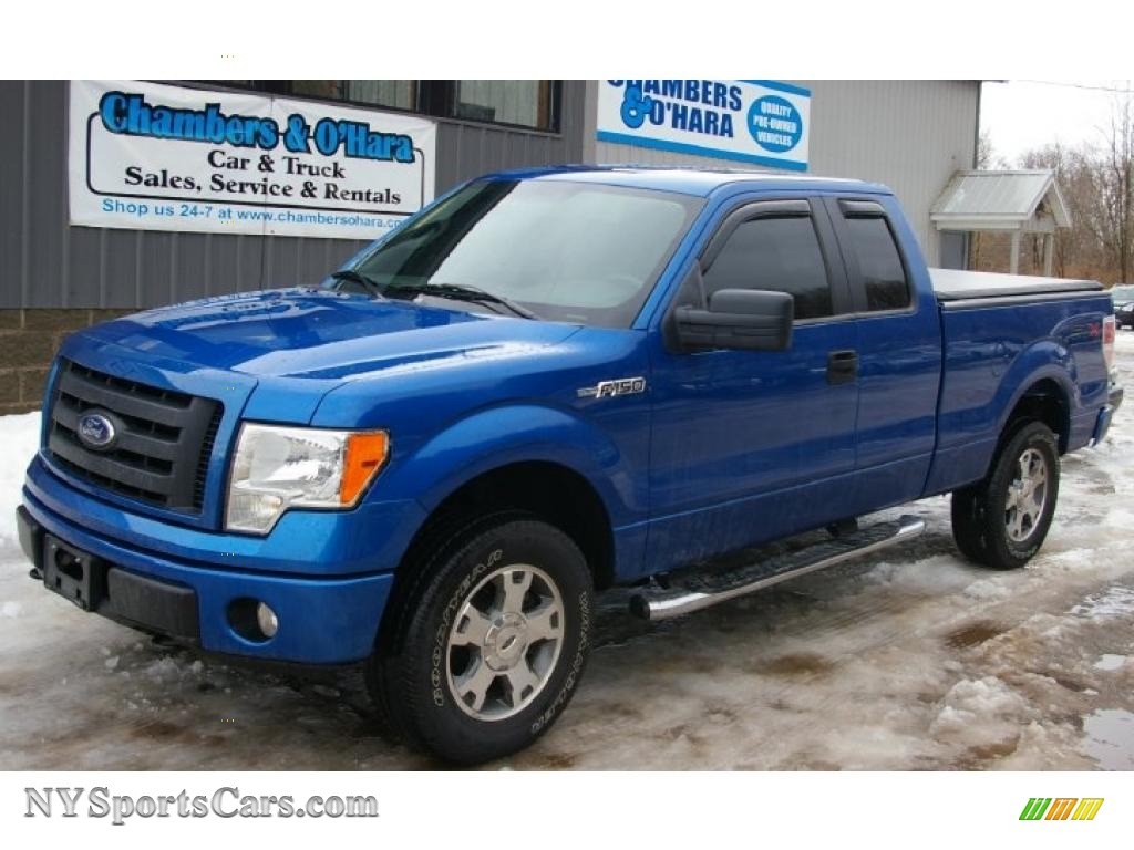 2010 ford f150 stx supercab 4x4 in blue flame metallic b30721 nysportscars com cars for
