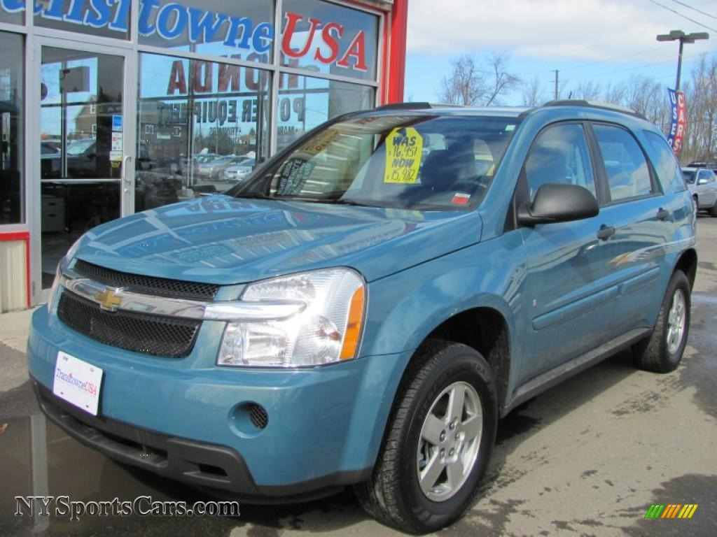 2008 chevrolet equinox ls awd in golden teal metallic 306939 cars for. Black Bedroom Furniture Sets. Home Design Ideas