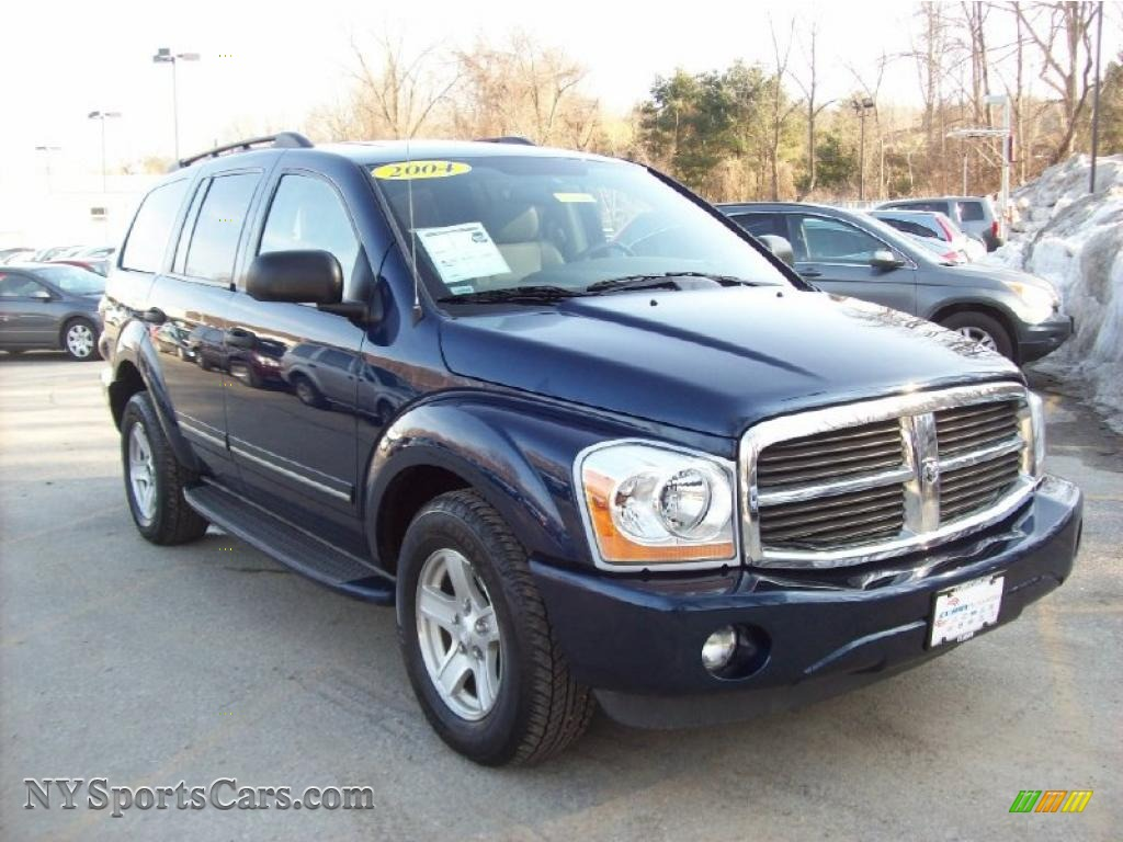 2004 dodge durango limited 4x4 in patriot blue pearl. Black Bedroom Furniture Sets. Home Design Ideas