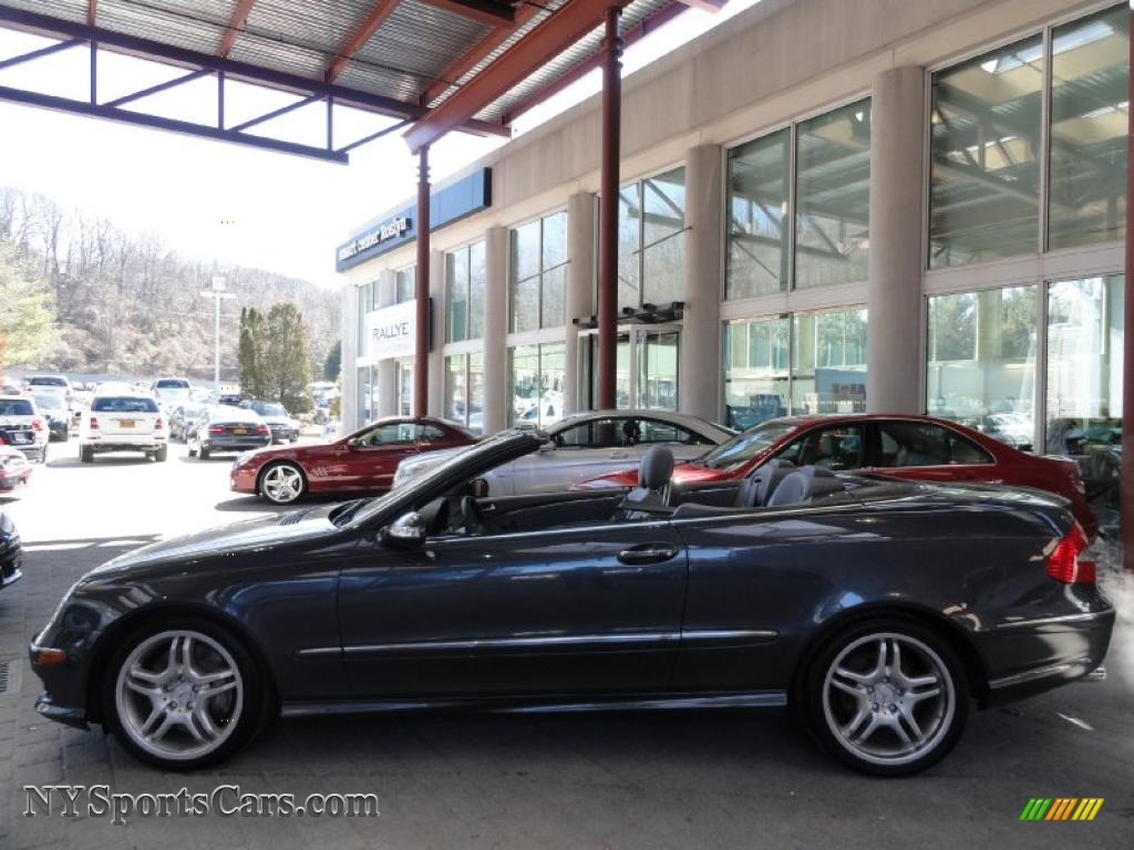 2009 mercedes benz clk 550 cabriolet in steel grey for Mercedes benz northern blvd