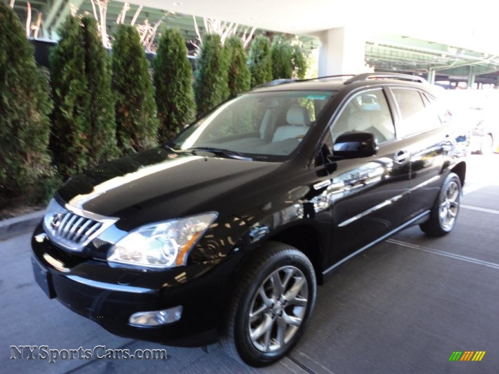 2009 lexus rx 350 awd in obsidian black 118524 cars for sale in new york. Black Bedroom Furniture Sets. Home Design Ideas