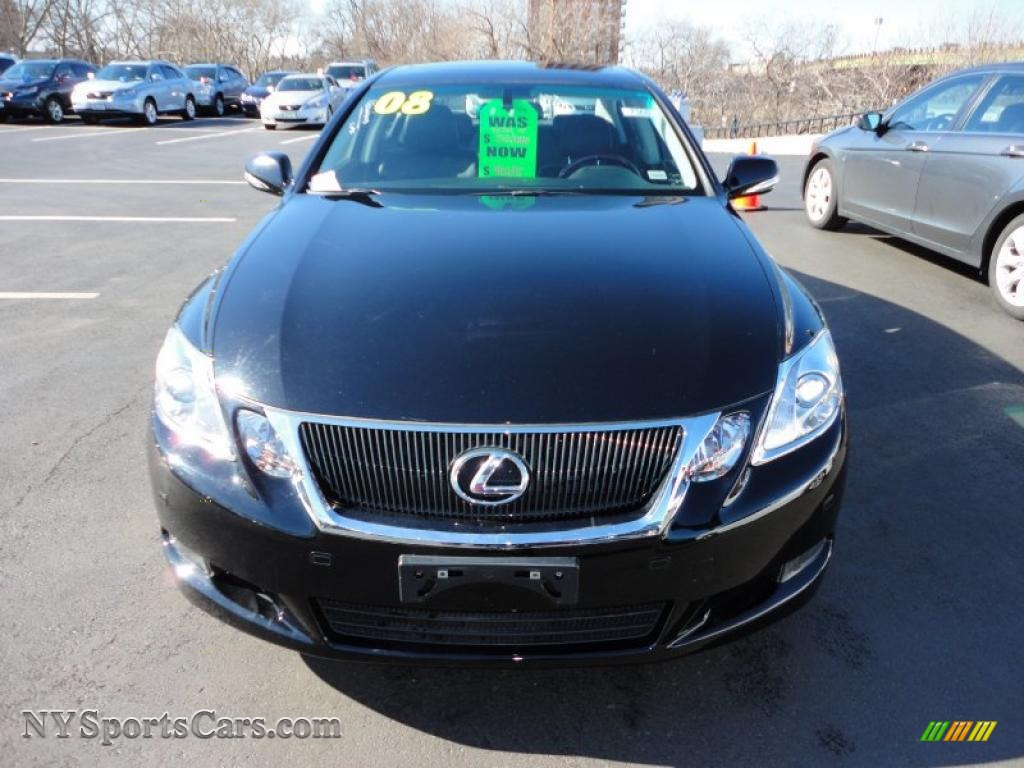 2008 lexus gs 460 in obsidian black photo 2 001169 cars for sale in new york. Black Bedroom Furniture Sets. Home Design Ideas