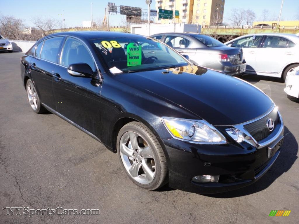 2008 lexus gs 460 in obsidian black photo 3 001169 cars for sale in new york. Black Bedroom Furniture Sets. Home Design Ideas