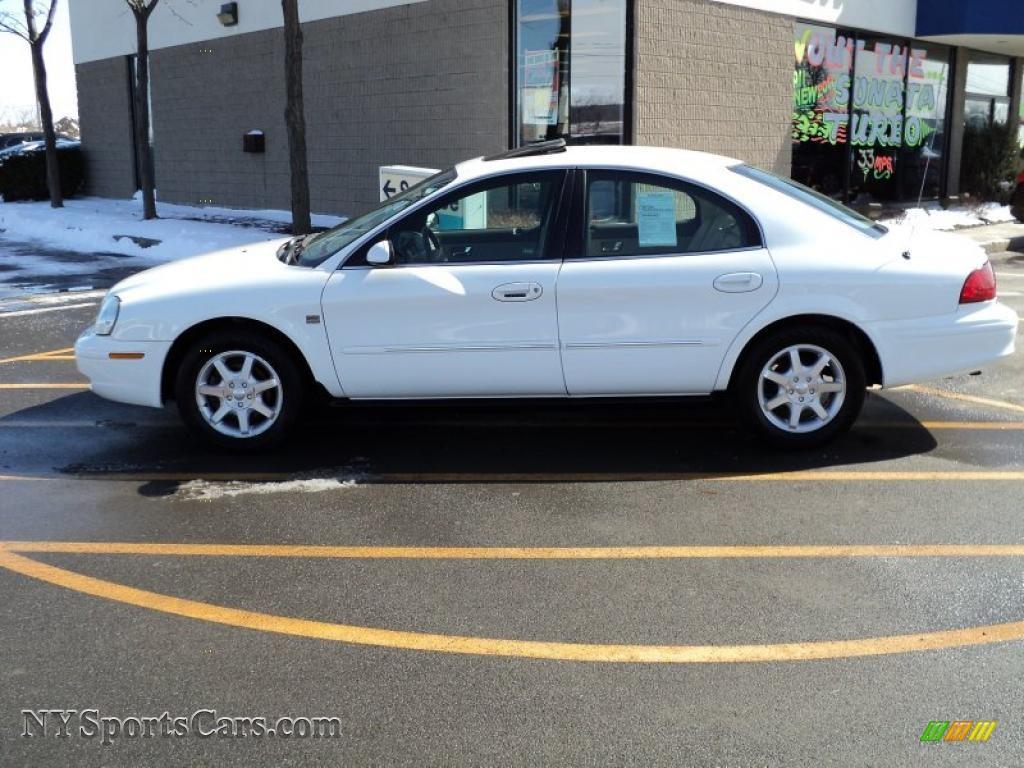 2002 Mercury Sable LS Premium Sedan in Vibrant White photo ...