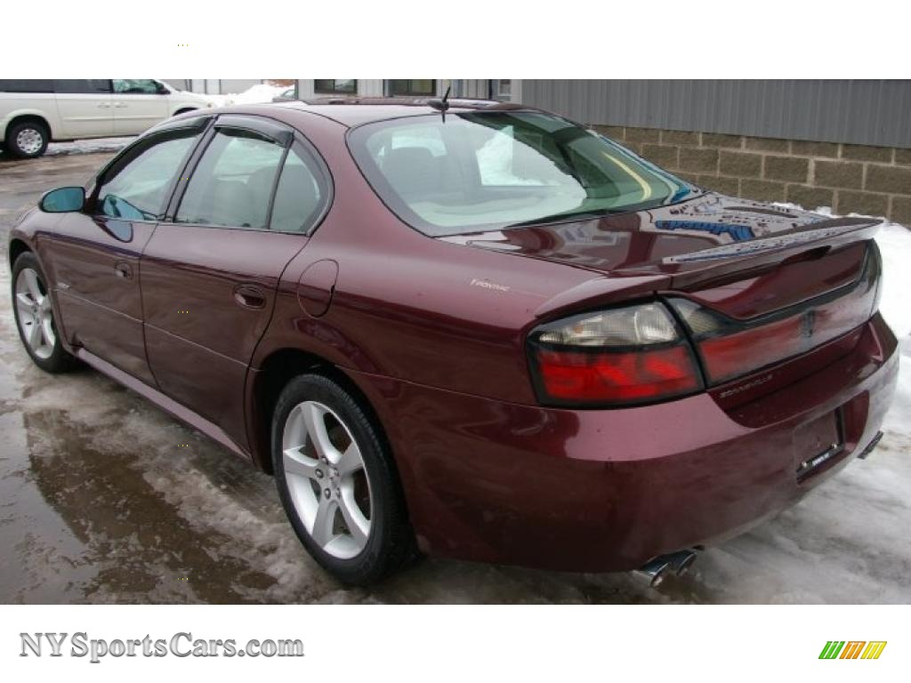 2005 Pontiac Bonneville Gxp In Cranberry Red Metallic