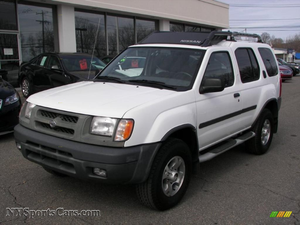 2000 Nissan Xterra Se V6 4x4 In Cloud White 544805 Nysportscars Com Cars For Sale In New York