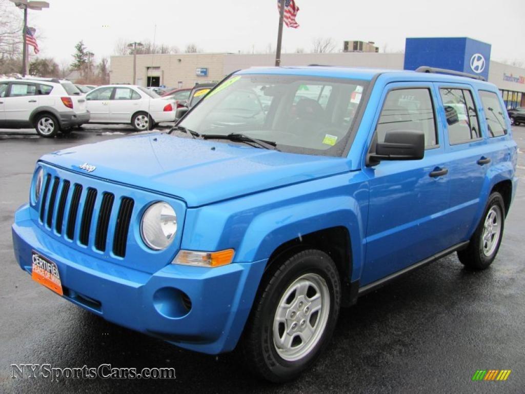 jeep patriot 2008 blue