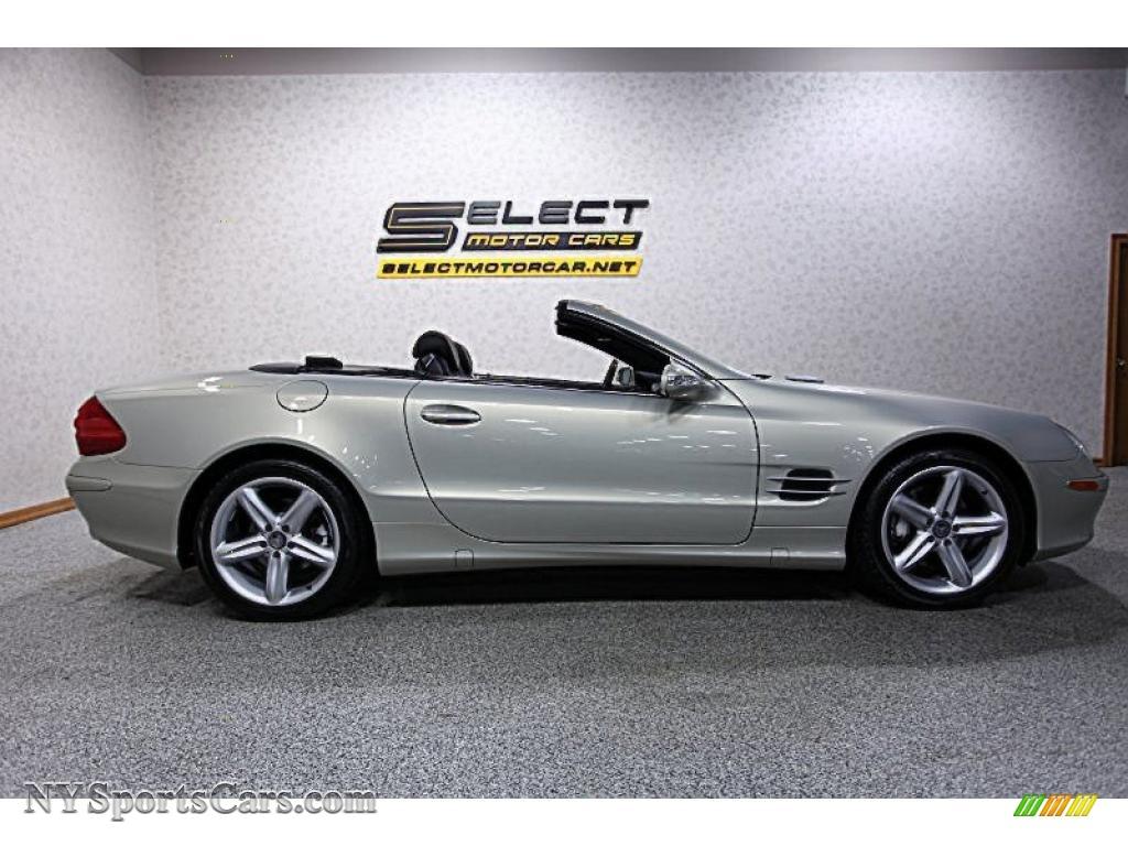 2003 mercedes benz sl 500 roadster in brilliant silver for Mercedes benz sl 500 2003