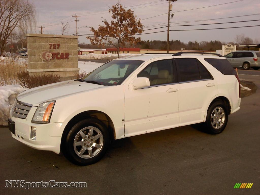 2009 cadillac srx 4 v6 awd in white diamond tri coat 145217 cars for sale. Black Bedroom Furniture Sets. Home Design Ideas