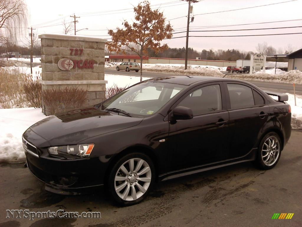 2009 mitsubishi lancer gts in tarmac black pearl 022482 cars for sale in. Black Bedroom Furniture Sets. Home Design Ideas