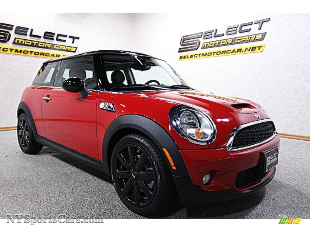 2010 Cooper S Hardtop - Chili Red / Grey/Carbon Black photo #3