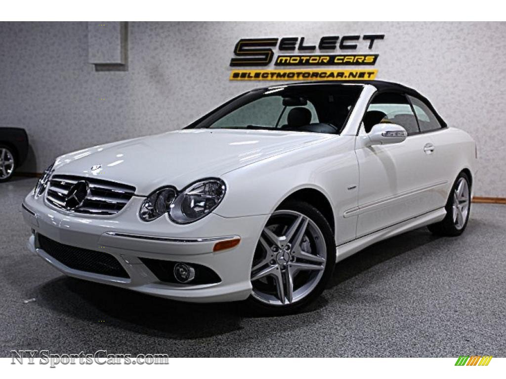 2009 mercedes benz clk 350 cabriolet in diamond white for 2009 mercedes benz clk350 for sale