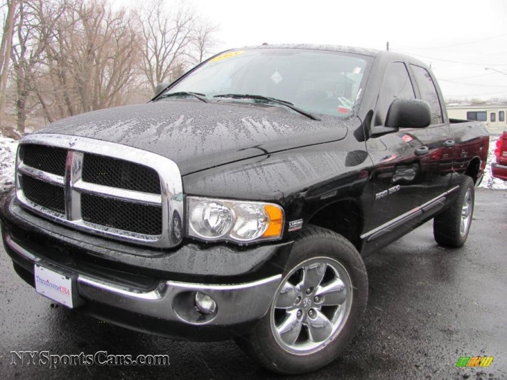 Black dark slate gray dodge ram 1500 slt quad cab 4x4