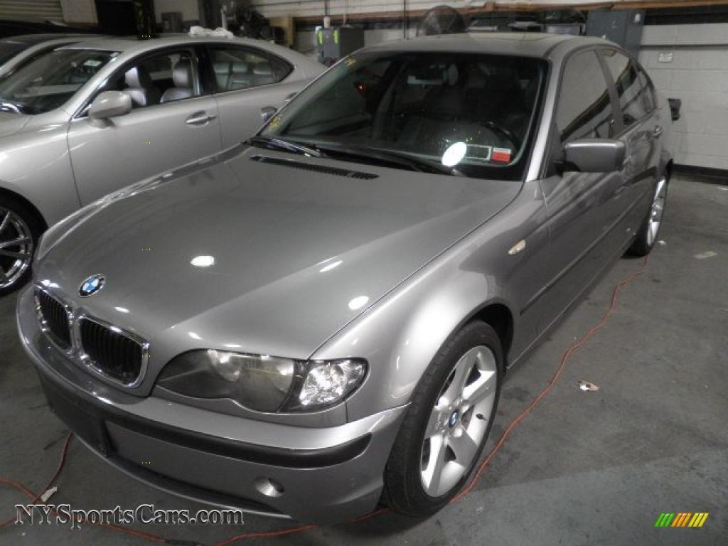 2004 3 series 325i sedan silver grey metallic grey photo 1