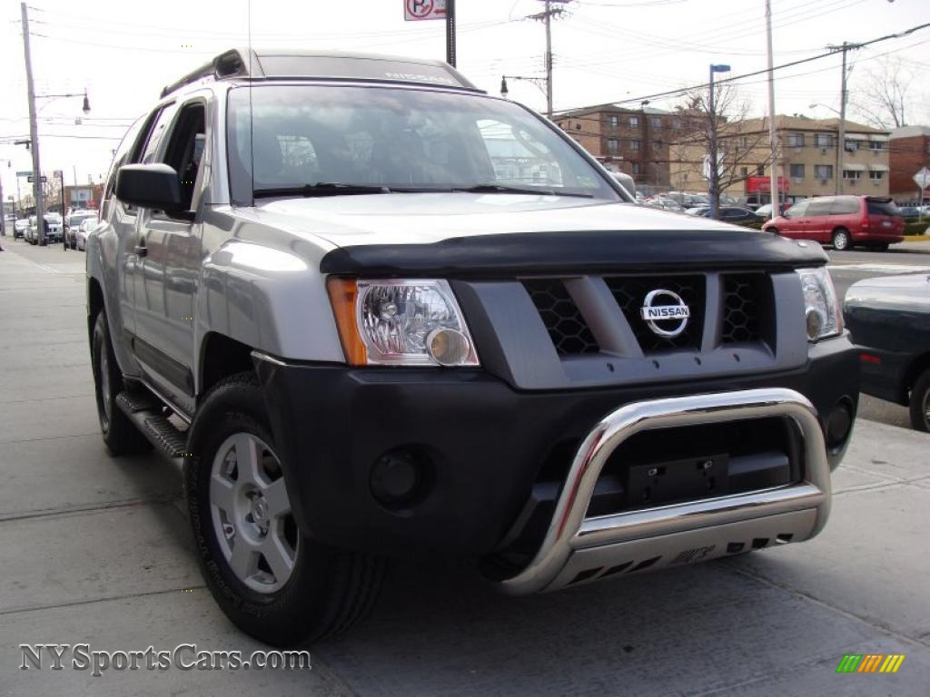 2007 nissan xterra x 4x4 in silver lightning metallic. Black Bedroom Furniture Sets. Home Design Ideas