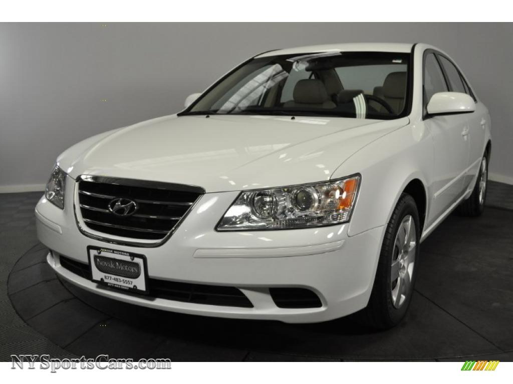 2009 Hyundai Sonata Gls In Powder White Pearl 410845 Nysportscars Com Cars For Sale In New