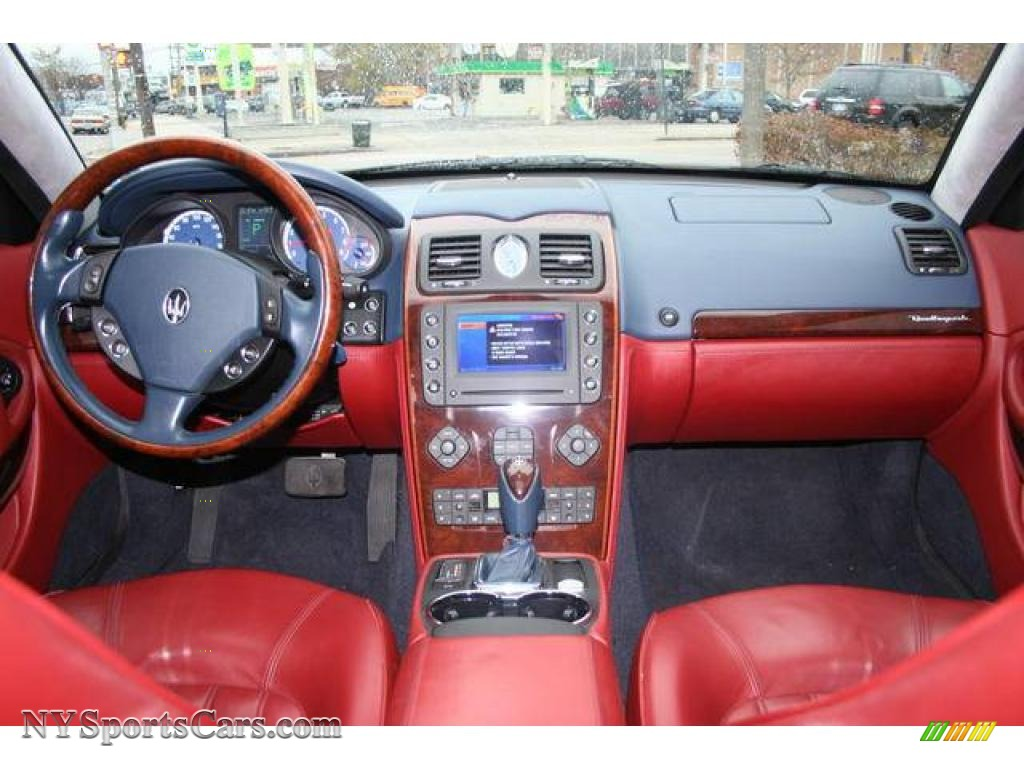 2007 Quattroporte  - Blue / Rosso photo #10