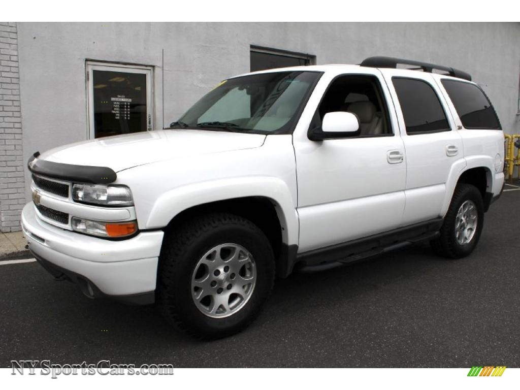 2002 Chevrolet Tahoe Z71 4x4 In Summit White 150214