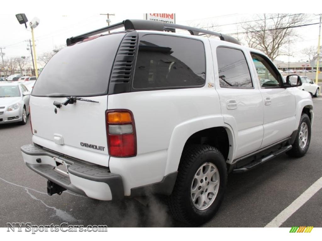 2002 Chevrolet Tahoe Z71 4x4 In Summit White Photo 6