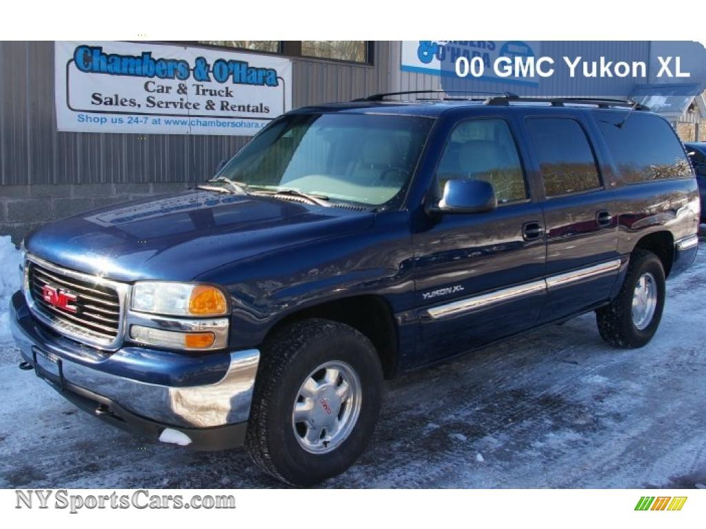 2000 gmc yukon xl slt 4x4 in indigo blue metallic 137400 cars for sale in. Black Bedroom Furniture Sets. Home Design Ideas