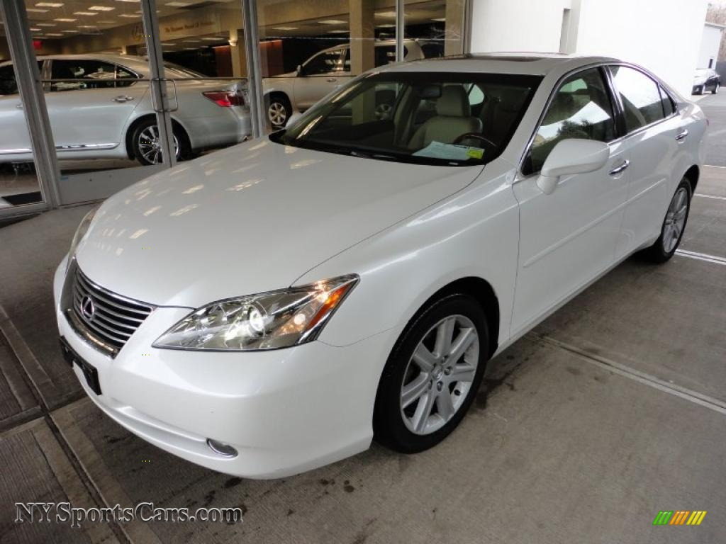 2008 lexus es 350 in starfire white pearl 166927. Black Bedroom Furniture Sets. Home Design Ideas