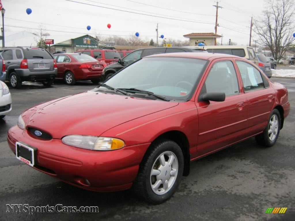 1997 Ford Contour Sport in Toreador Red Metallic - 129604 ...