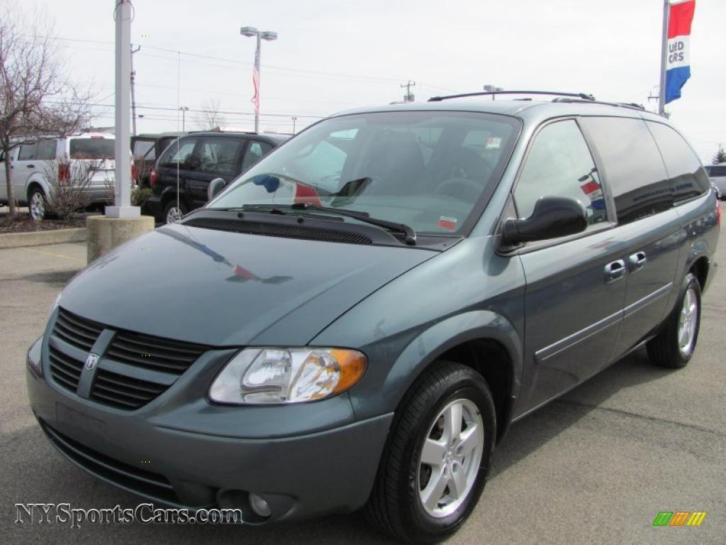 2007 Dodge Grand Caravan Sxt In Magnesium Pearl 159209