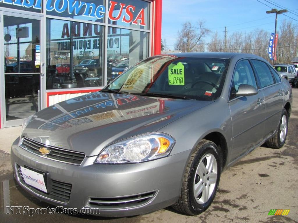 2007 chevrolet impala ls in dark silver metallic 258382. Black Bedroom Furniture Sets. Home Design Ideas