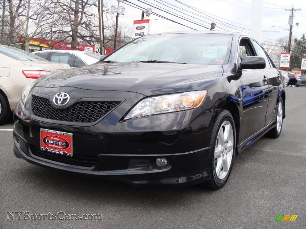 2009 Toyota Camry Se In Black 288840 Nysportscars Com Cars For Sale In New York