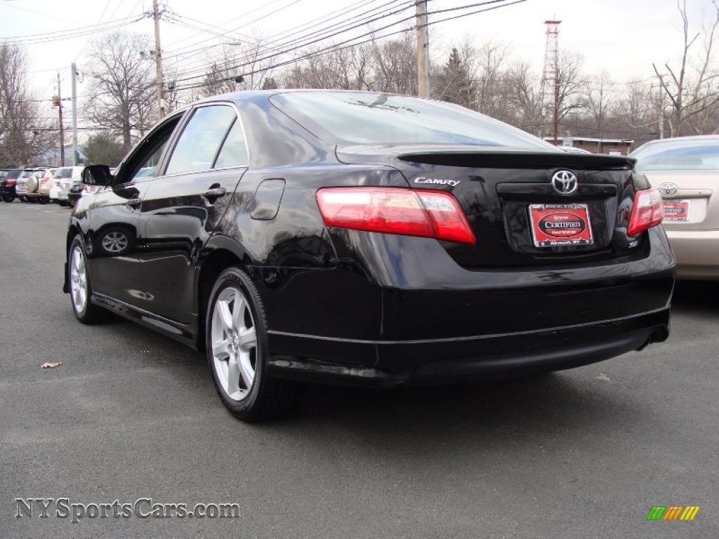 2009 toyota camry se in black photo 6 288840 cars for sale in new york. Black Bedroom Furniture Sets. Home Design Ideas