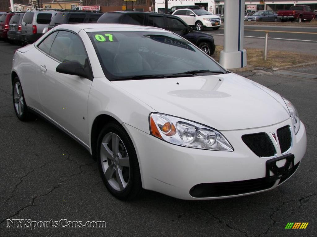 2007 pontiac g6 gt convertible in ivory white photo 15 264349 cars for. Black Bedroom Furniture Sets. Home Design Ideas