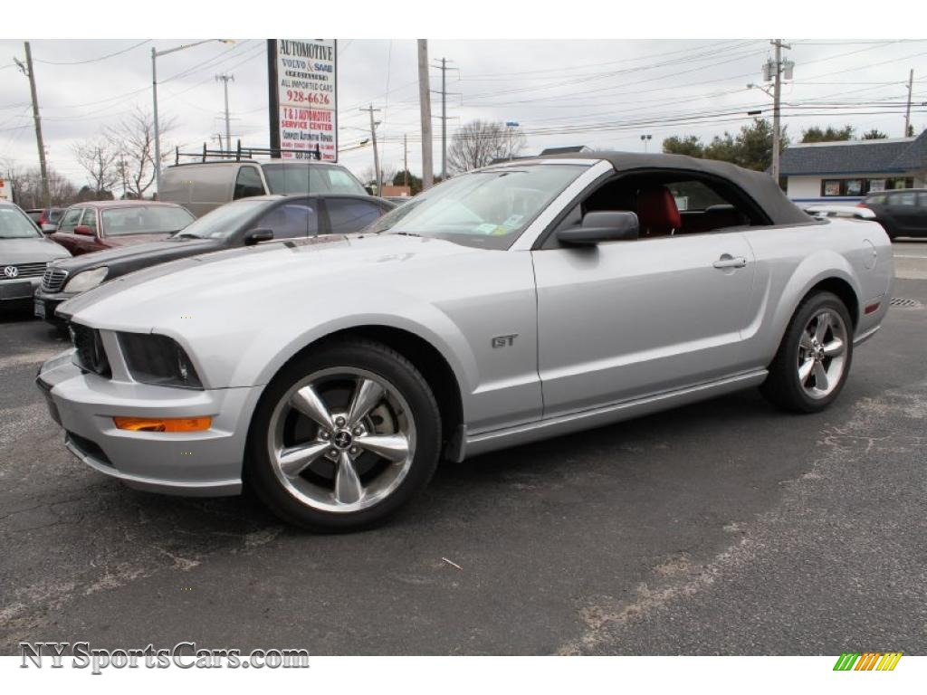 2006 Ford Mustang Gt Premium Convertible In Satin Silver Metallic 170544