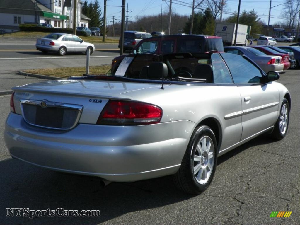 2005 chrysler sebring gtc convertible in brilliant silver metallic photo 3 502874. Black Bedroom Furniture Sets. Home Design Ideas