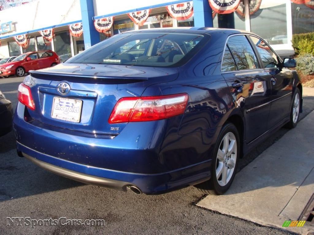 2007 Toyota Camry SE in Blue Ribbon Metallic photo #4 ...