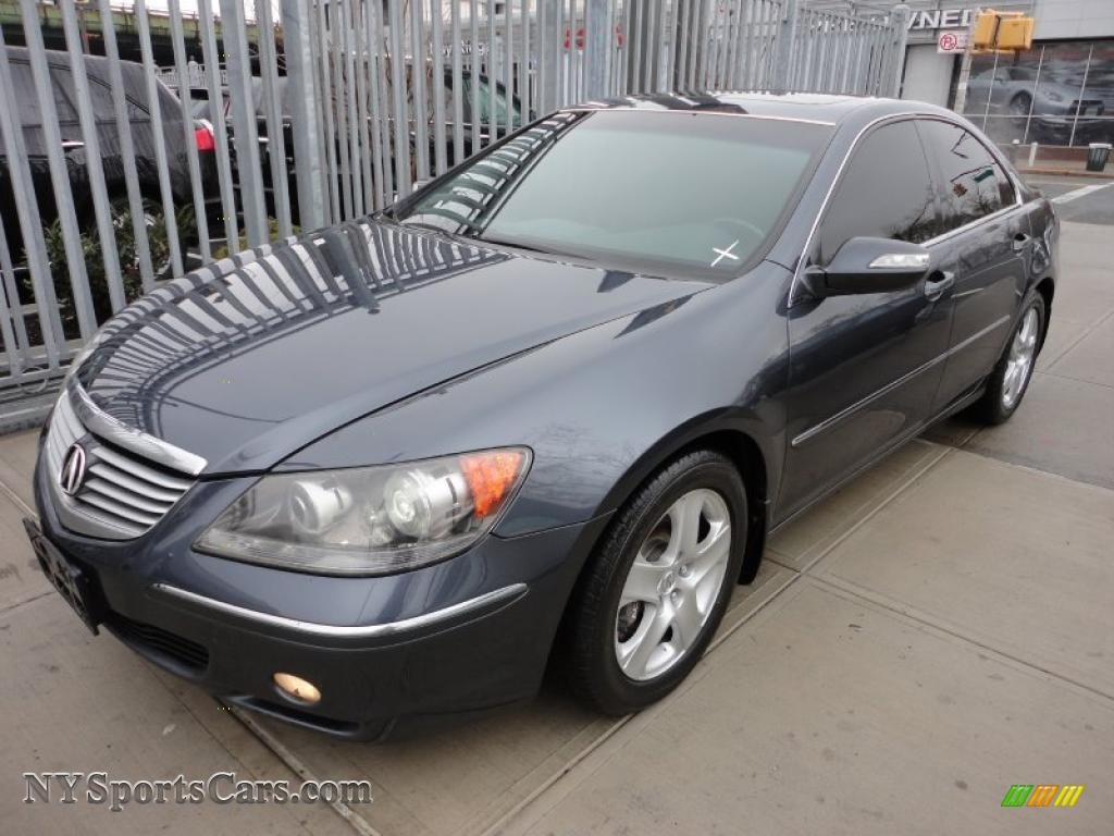 Acura RL AWD Sedan In Carbon Gray Pearl - Acura rl 2005 for sale