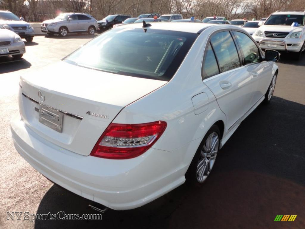 2008 mercedes benz c 300 4matic sport in arctic white photo 3. Black Bedroom Furniture Sets. Home Design Ideas