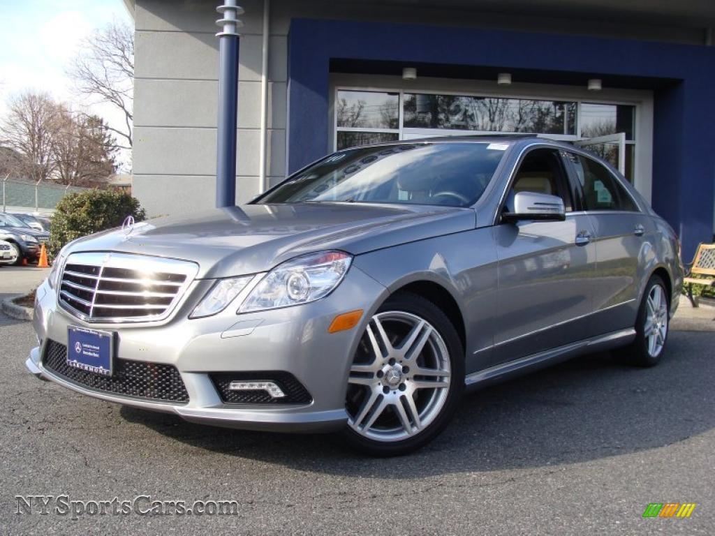 2010 mercedes benz e 350 4matic sedan in palladium silver for Mercedes benz 4matic sedan