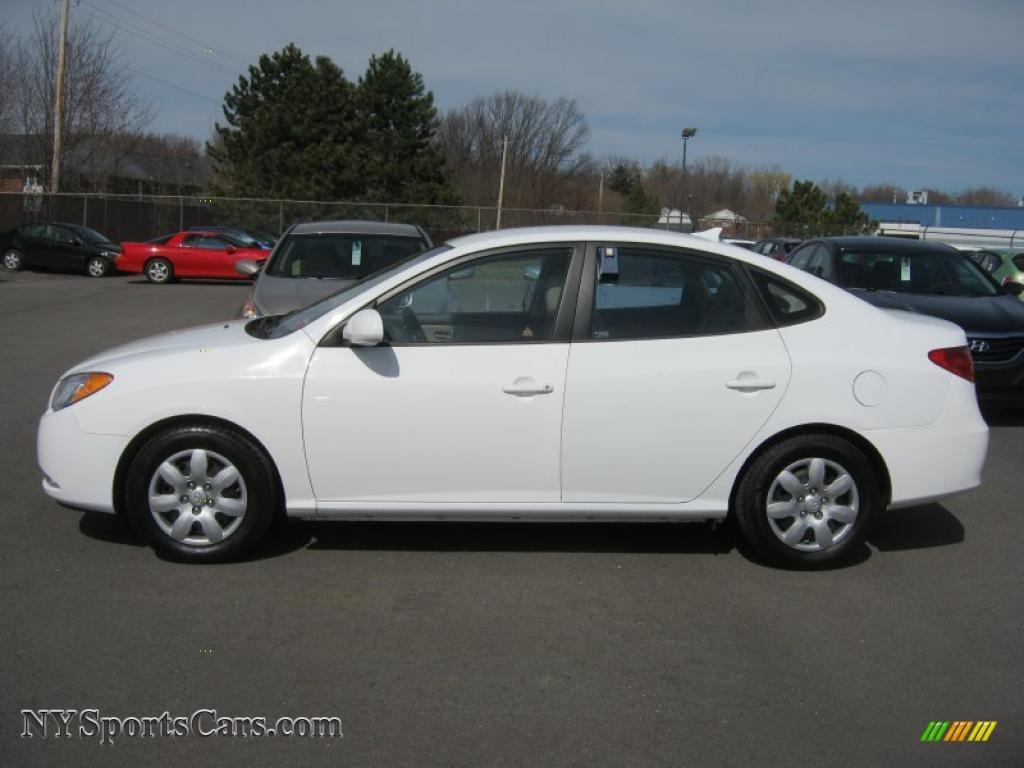Vision Hyundai Henrietta >> 2009 Hyundai Elantra GLS Sedan in Captiva White photo #13 ...