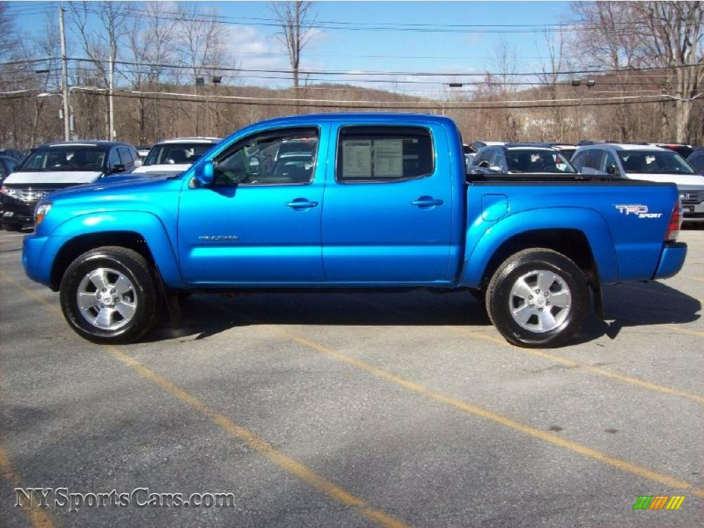 2009 Toyota Tacoma V6 Trd Sport Double Cab 4x4 In Speedway
