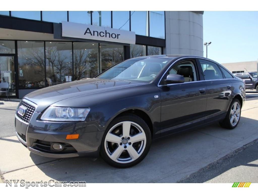 2008 audi a6 3 2 quattro sedan in oyster grey metallic. Black Bedroom Furniture Sets. Home Design Ideas