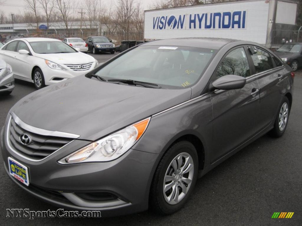 2011 Hyundai Sonata Gls In Harbor Gray Metallic 036314