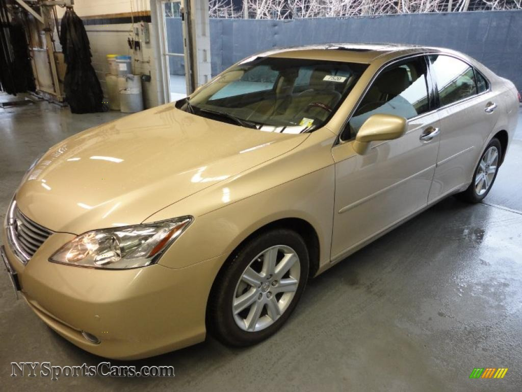 2009 lexus es 350 in golden almond metallic 294257 cars for sale in new york. Black Bedroom Furniture Sets. Home Design Ideas