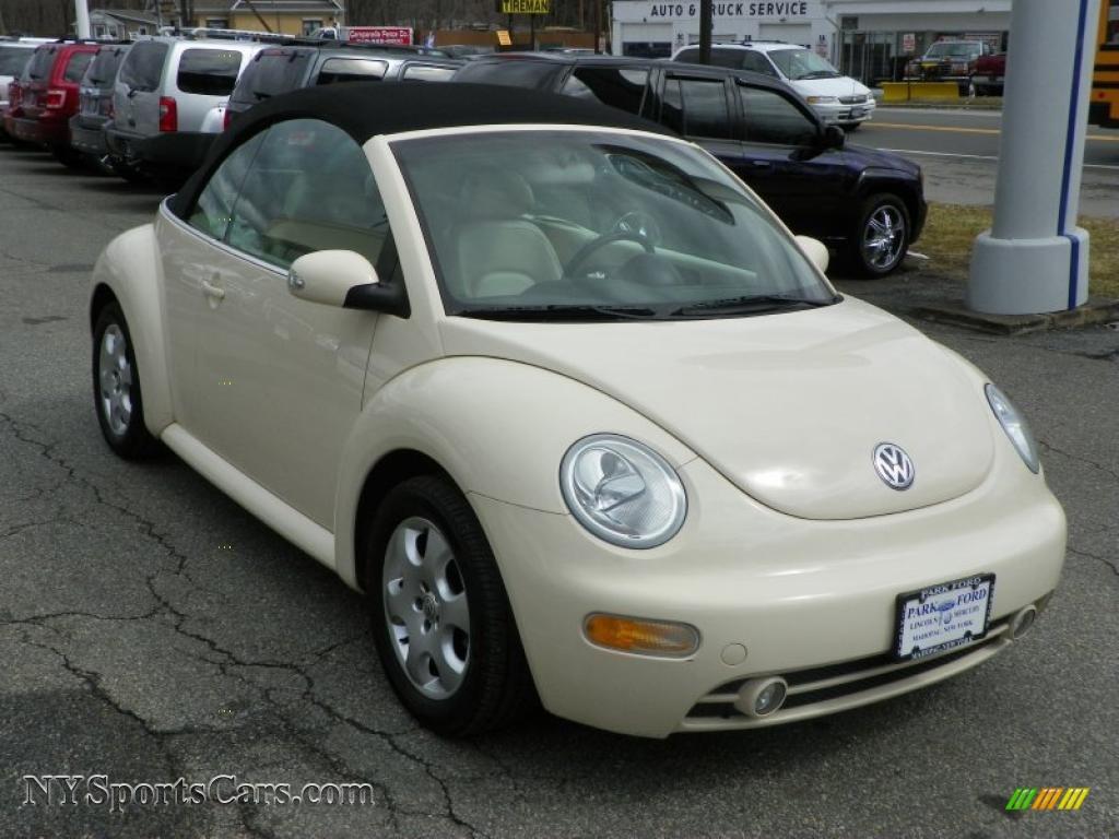 2003 Volkswagen New Beetle Gls Convertible In Harvest Moon