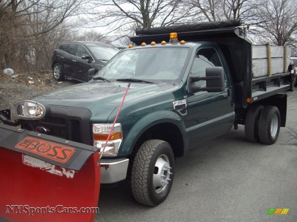 ... / Medium Stone Ford F350 Super Duty XL Regular Cab 4x4 Plow Truck