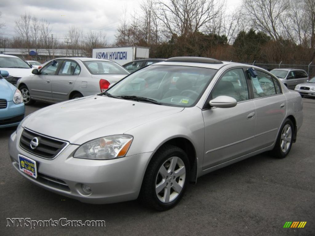 2003 Nissan Altima 2 5 S In Sheer Silver Metallic 282554