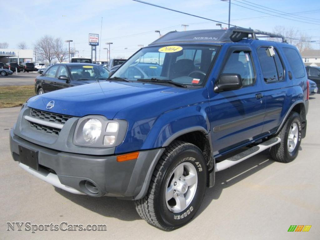 2004 nissan xterra xe 4x4 in just blue 609173 cars for sale in new york. Black Bedroom Furniture Sets. Home Design Ideas