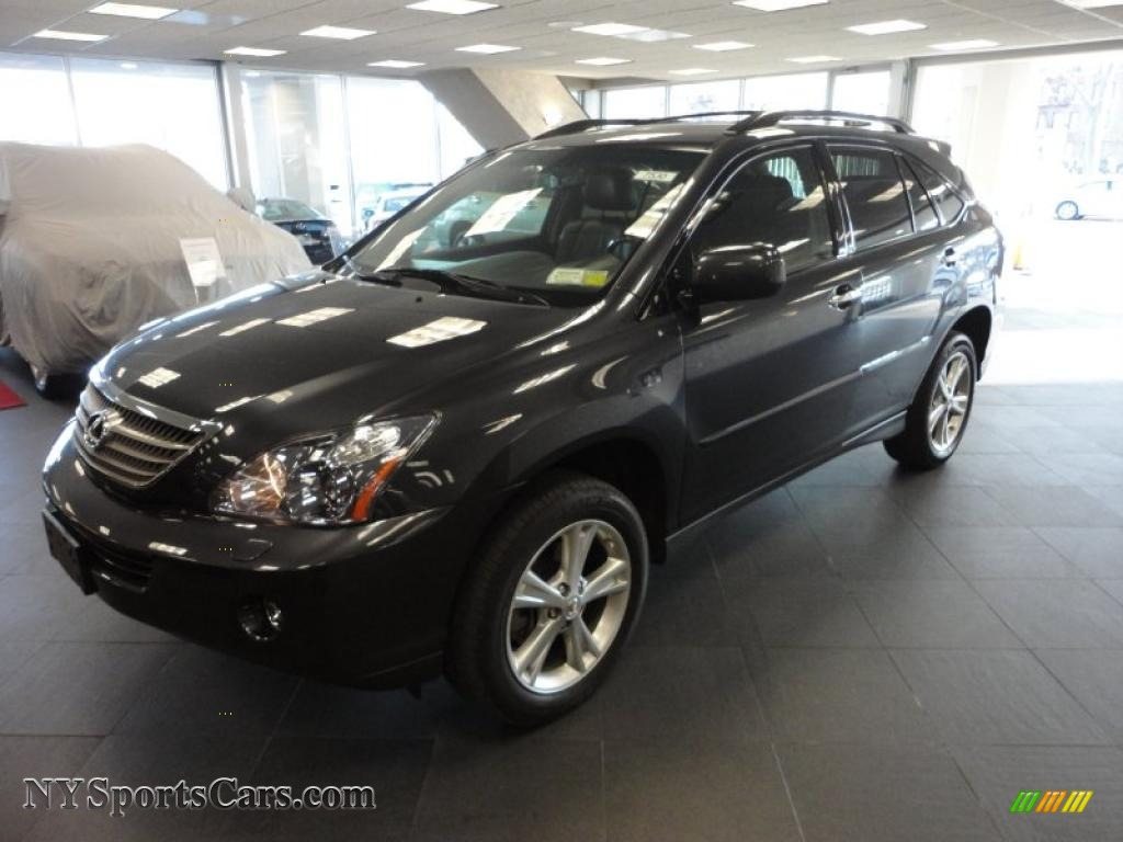 2008 lexus rx 400h awd hybrid in smoky granite mica. Black Bedroom Furniture Sets. Home Design Ideas