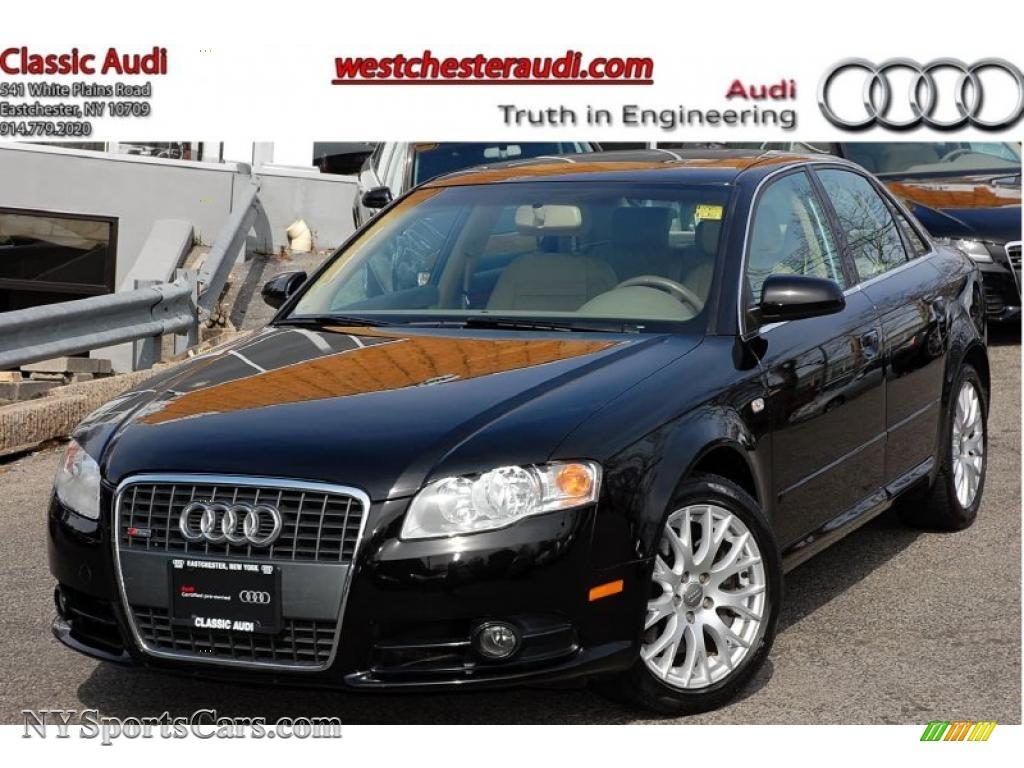 2008 audi a4 2.0t special edition quattro sedan in brilliant black